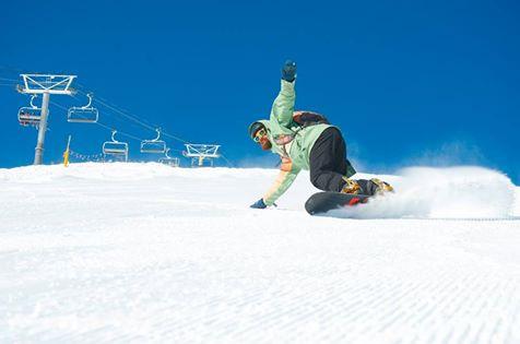 Justin Snowboarding
