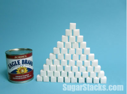 Sugar in Condensed Milk