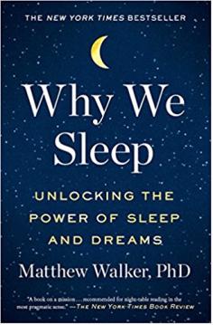 Why we sleep cover